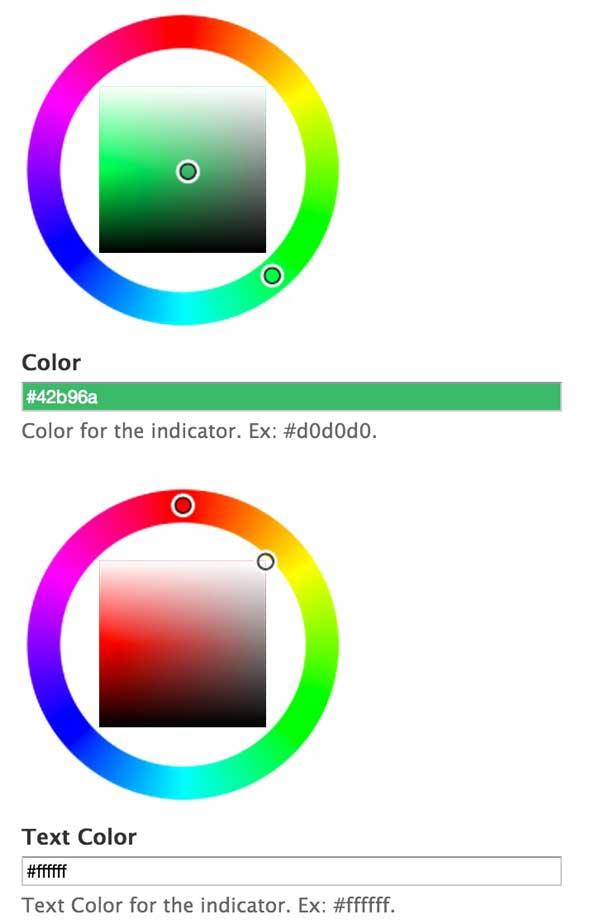 Environment Indicator 颜色设置