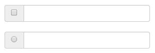 输入框组的复选框和单选插件