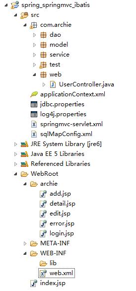 spring+springmvc+ibatis整合注解方式实例- 编程SKY的个人空间