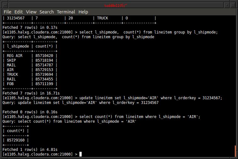 Hadoop 生态数据存储系统:Apache Kudu 1.12.0