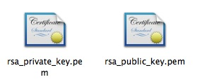 MAC&nbsp;<wbr>OS下使用OpenSSL生成私钥和公钥的方法
