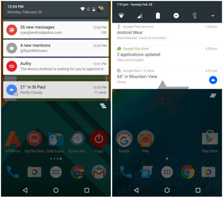 Android 6.0 Android7.0