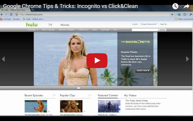 Click&Clean App(保护私人数据)