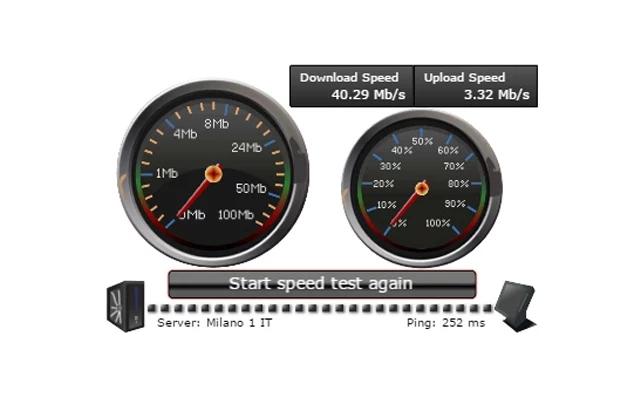 速度测试(speed test)