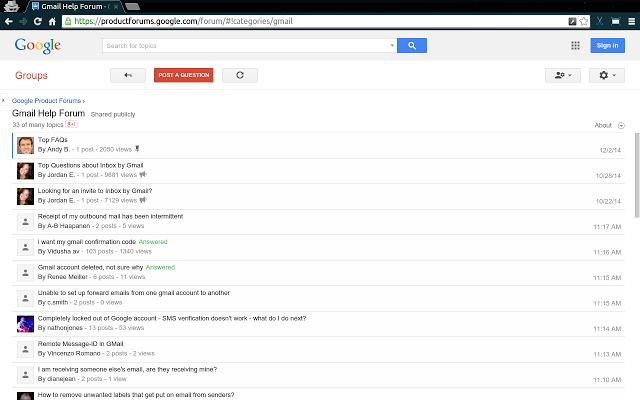Google 网上论坛(Google Online Forums)