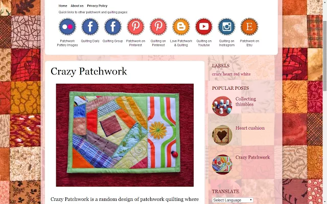 Patchwork & Quilting(拼布和绗缝)
