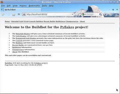 持续交付利器-python持续集成工具Buildbot(Mozilla和谷歌等使用)介绍