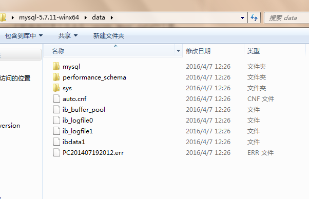 MySQL data目录