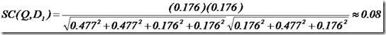 [图]文档一的打分计算