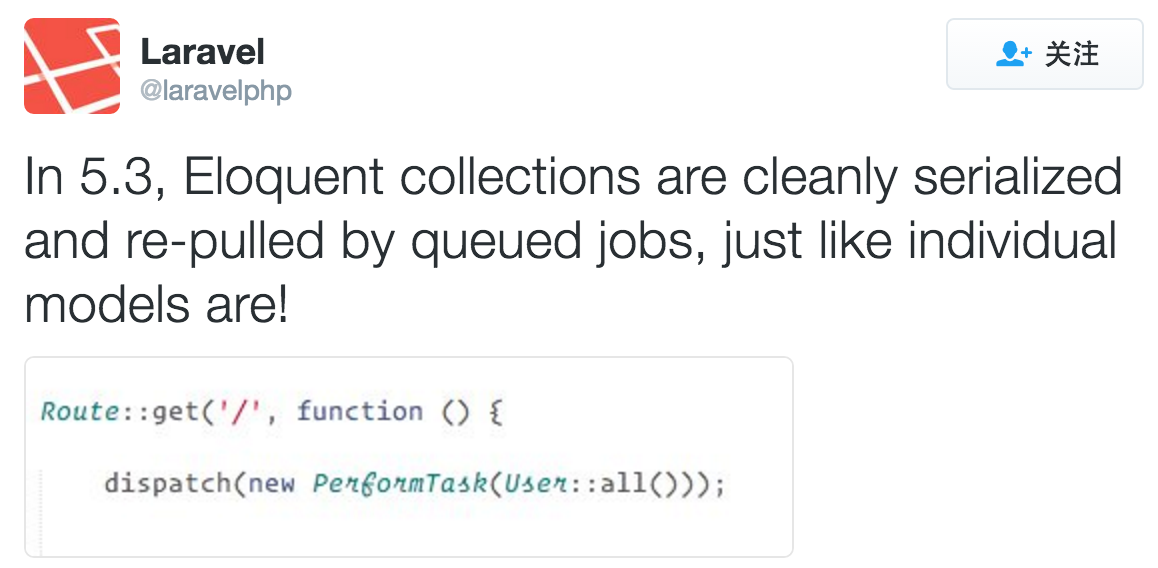 laravel-collection-serialized