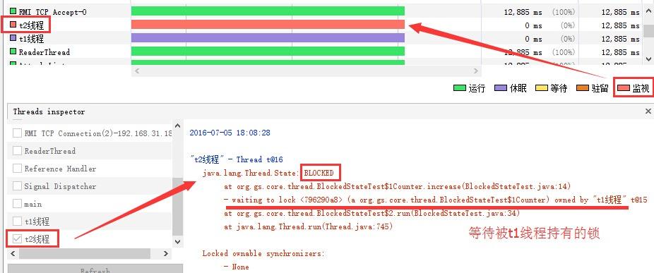 Java 线程状态之 BLOCKED