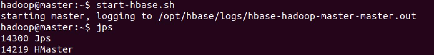 start-hbase