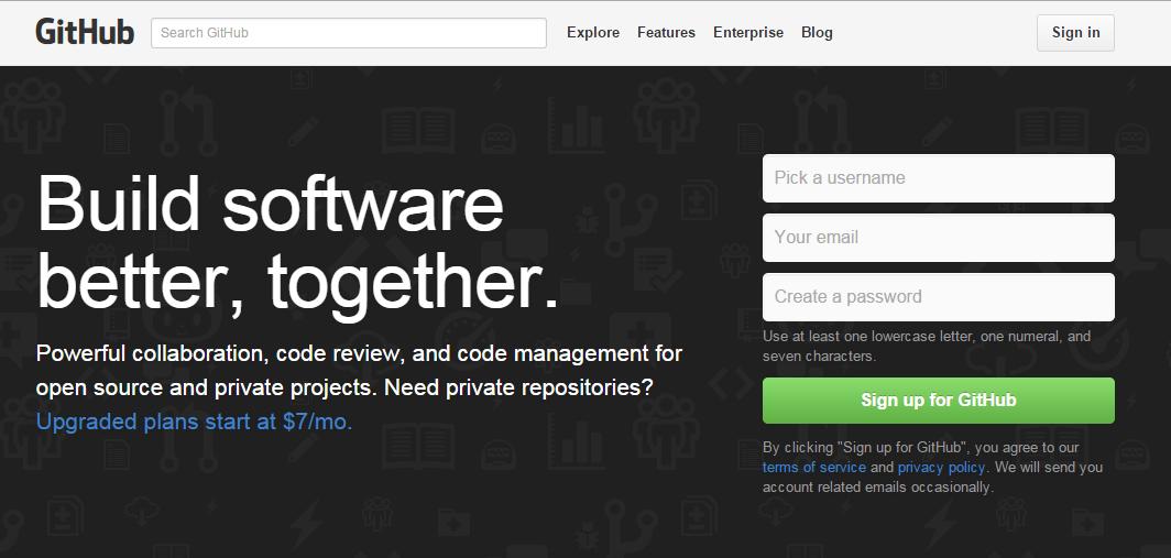 程序员必须知道的几个Git代码托管平台