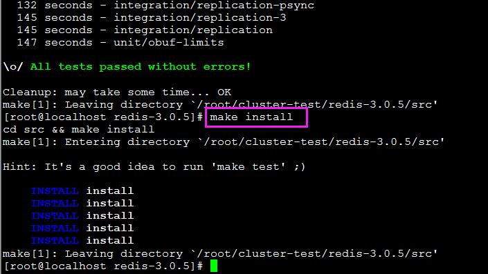 分布式缓存rediscluster环境搭建及wishstack调用