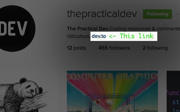 @ThePracticalDev Instagram Account