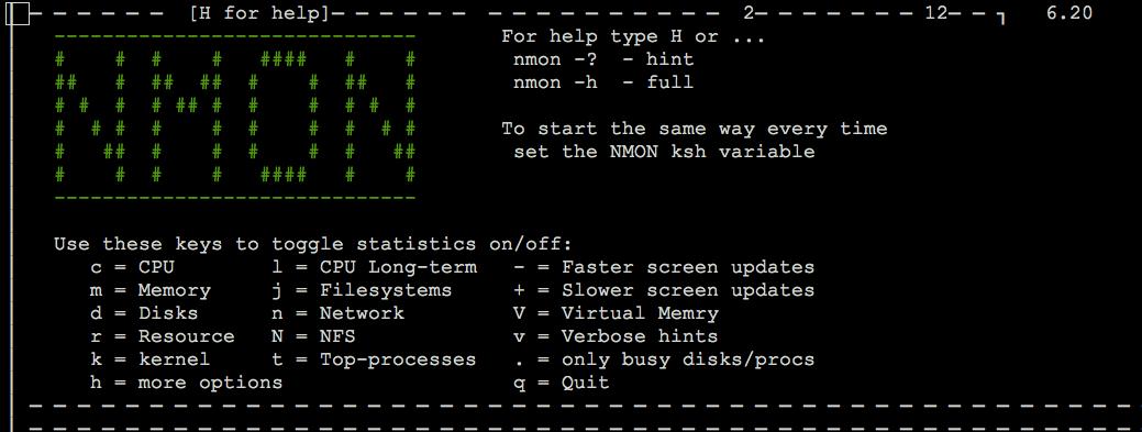 nmon监控工具