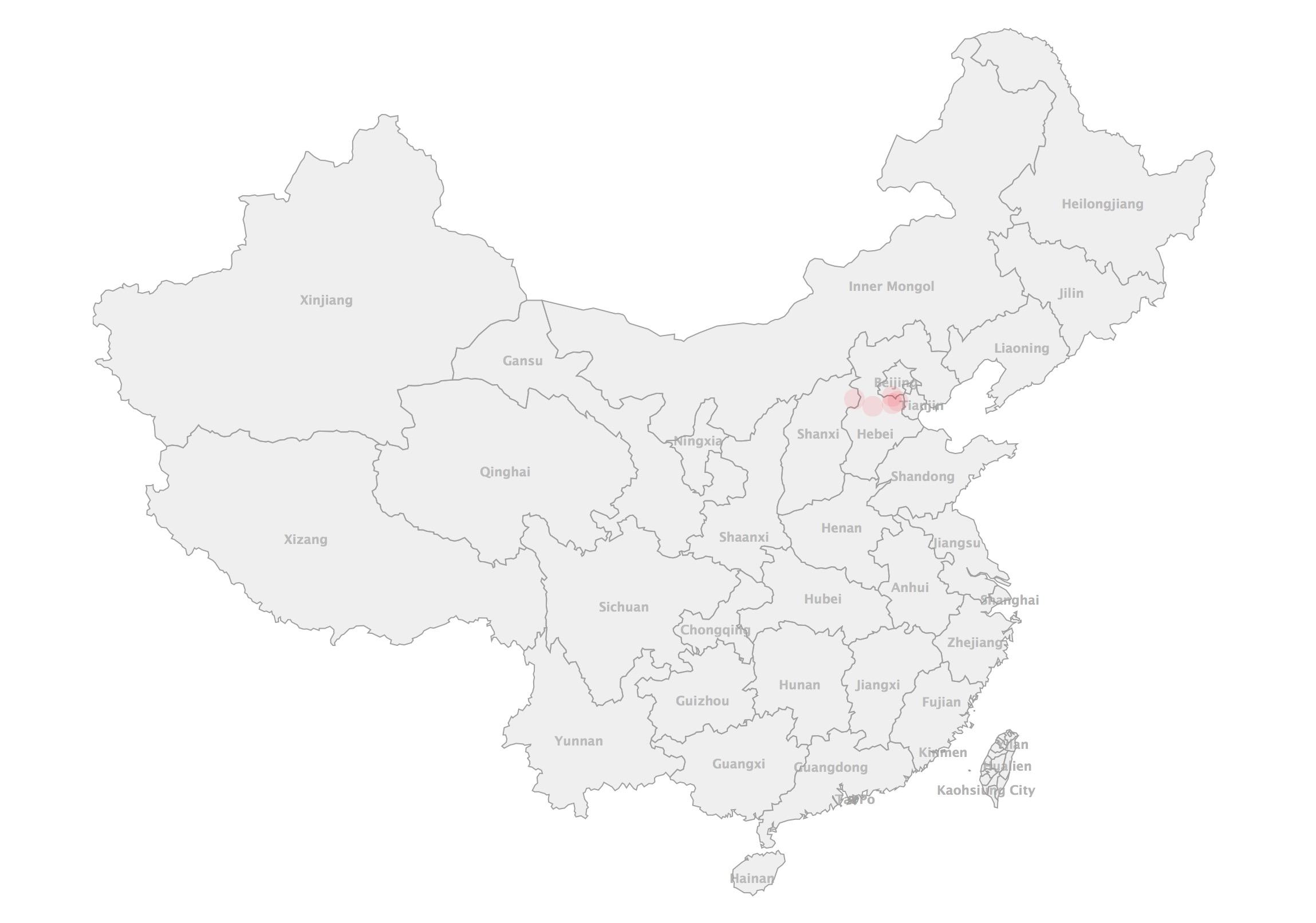 国内用户地图