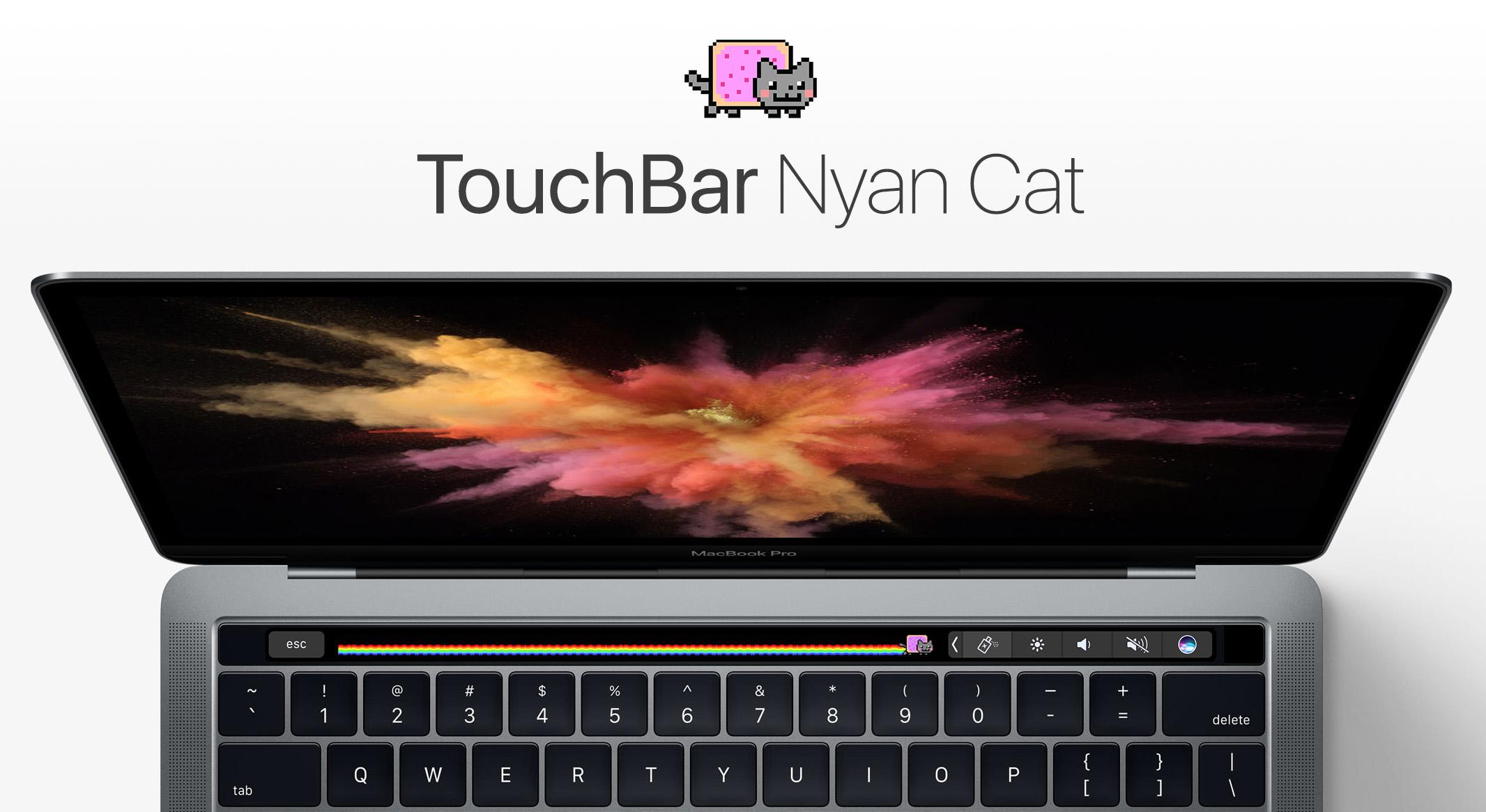Touchbar Nyancat