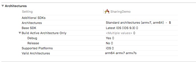 Sharesdk Undefined Symbols For Architecture I386 Objcclassxx