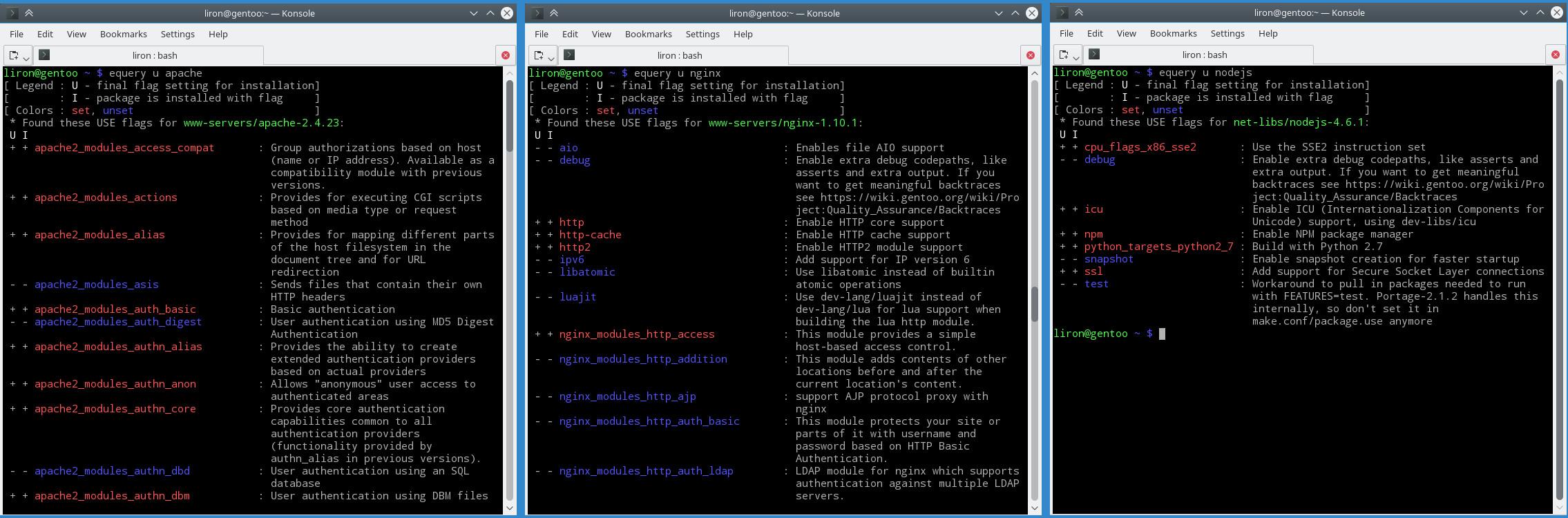 Apache、Nginx 和 Node.js 的使用的配置对比