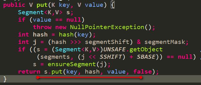 1.7ConcurrentHashMap的put过程1