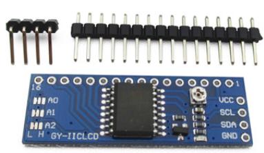 LCD1602/2004_I2C转接板