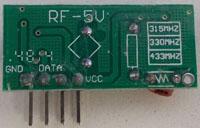 超再生接收模块背面-S