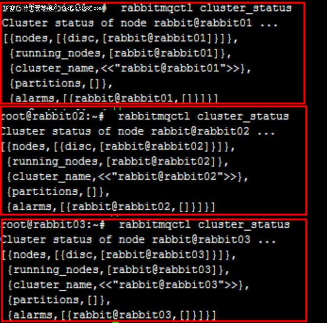 基于高可用配置的RabbitMQ集群实践