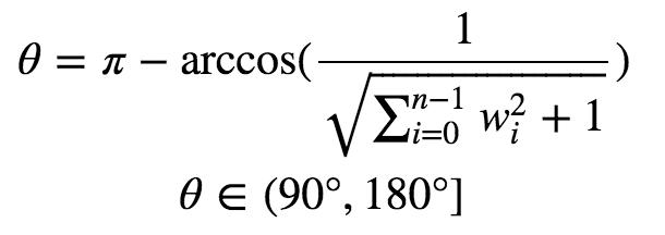 超折面的角度-高维空间