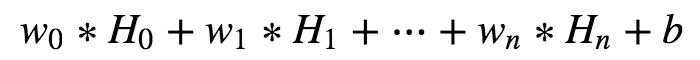 多个超折面线性相加