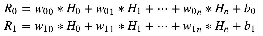 Softmax的二元分类