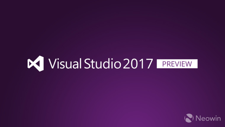 Visual Studio 2017 Preview