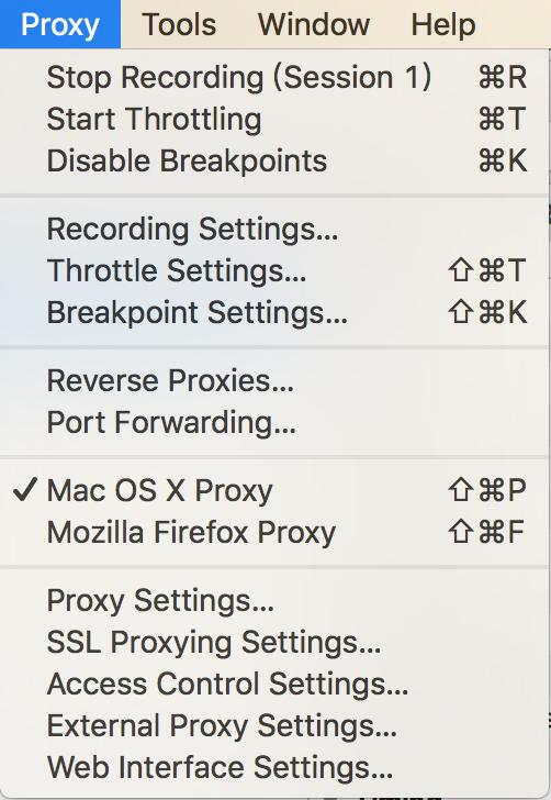 设置抓取Mac