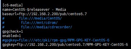 CentOS-Media.repo 内容