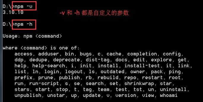 npm 命令行工具