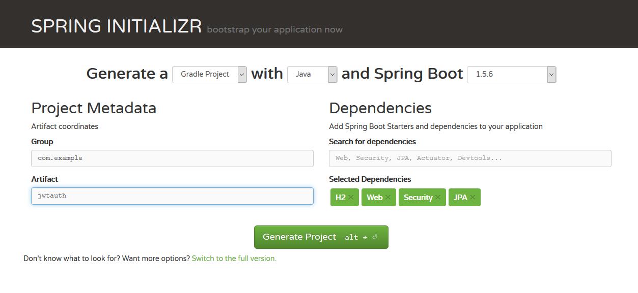 用JWT技术为SpringBoot的API增加授权保护...
