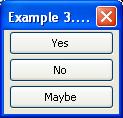 纵向并列三个按钮