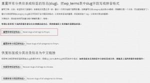 woredpress中文标签无法使用