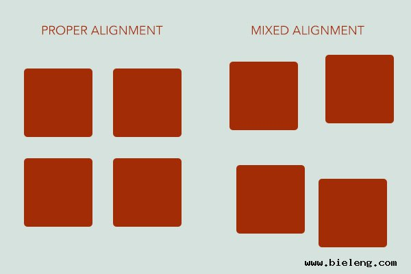 mixed-alignment