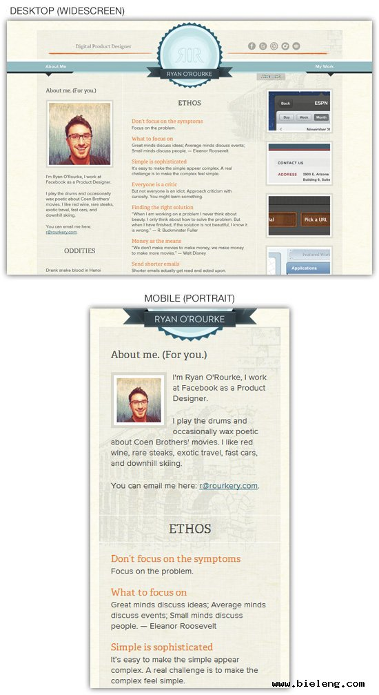 navigation menu should be responsive in html5