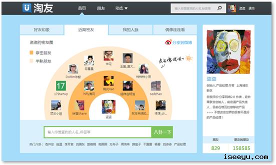 ty1 淘友: 基于新浪微博的微型交友社区 @分享网络2.0  盗盗