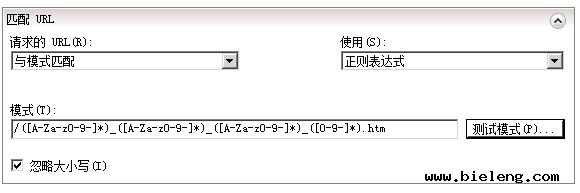 网站url伪静态规则
