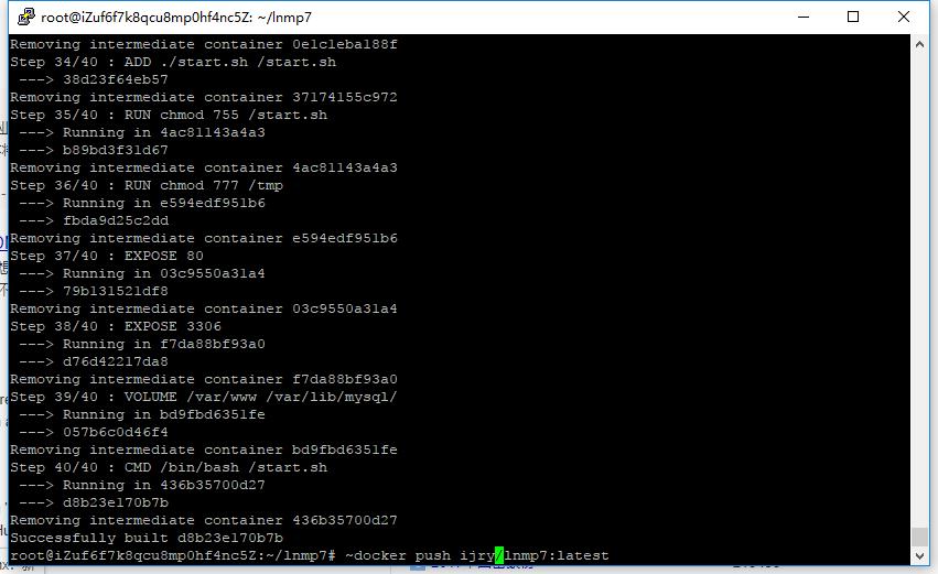上传Docker镜像命令