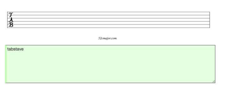 为程序员准备的音乐编辑器-VexTab