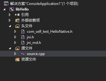 VC++项目结构