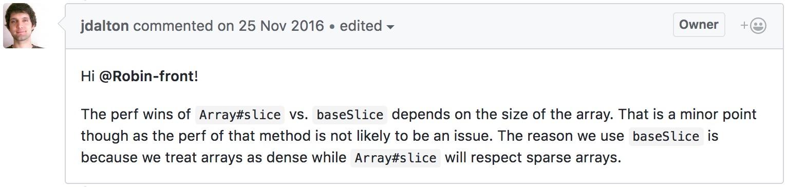 lodash源码解析-slice函数