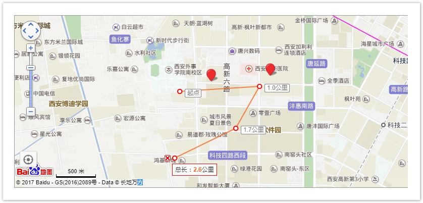 图2  地图界面