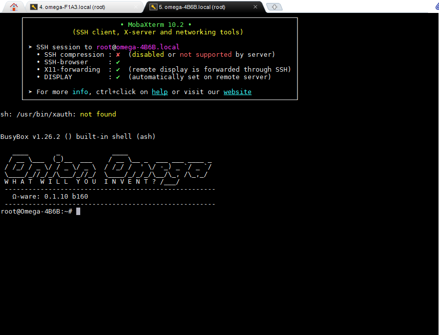 SSH终端工具MobaXterm
