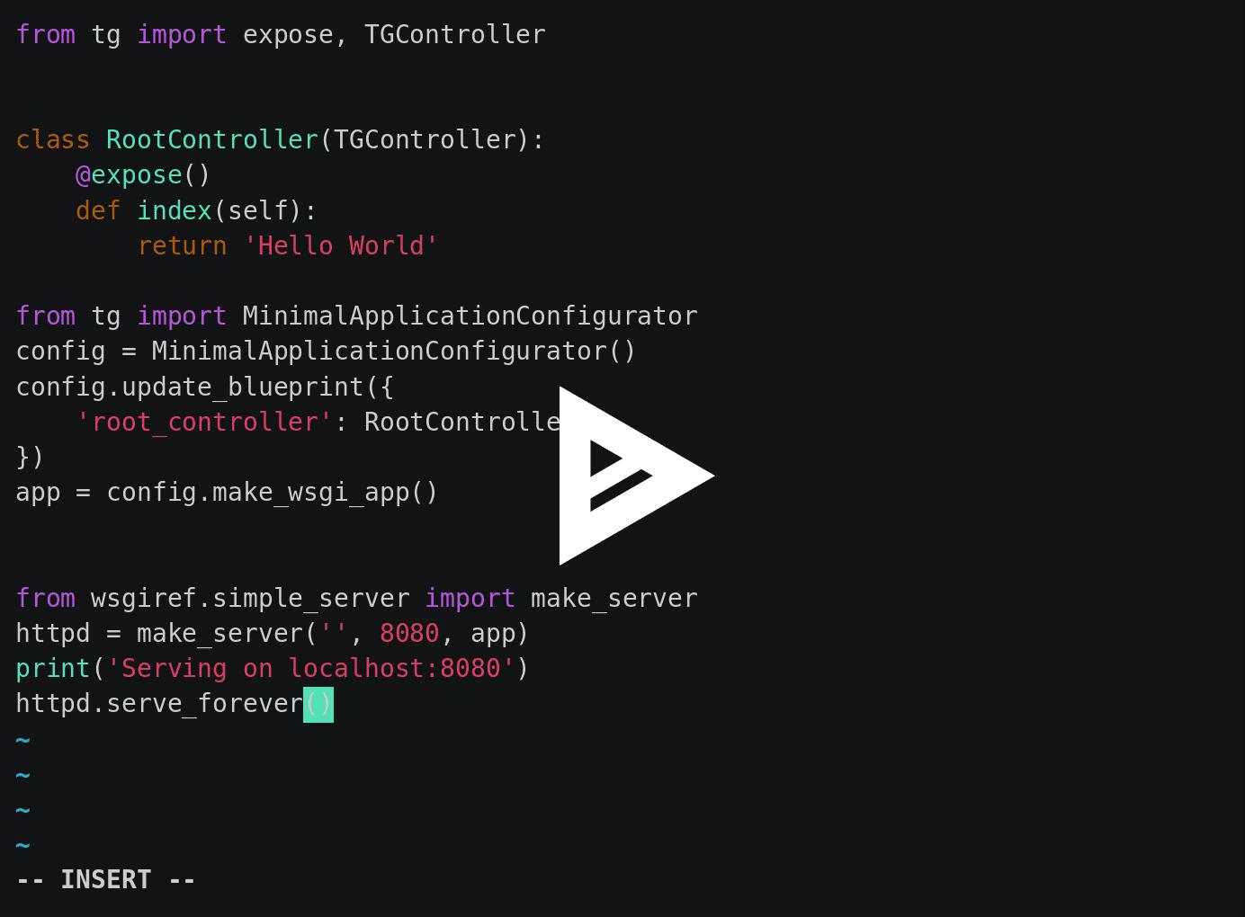 Python 的 Web 框架 TurboGears
