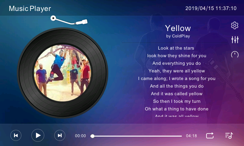 MusicPlayer-Demo